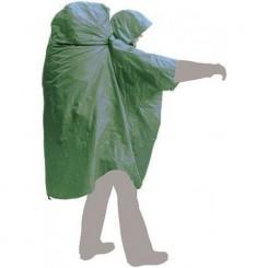 """Накидка дождевая """"PonchoBag S-M"""", цвет зелёный"""