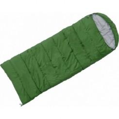 """Спальный мешок """"ASLEEP 400"""", цвет зелёный, """"L"""" левосторонняя застежка"""