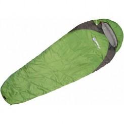 """Спальный мешок """"JUNIOR 200, цвет зелёный, """"L"""" левосторонняя застежка"""