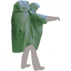 """Накидка дождевая """"PonchoBag L-XL"""", цвет зелёный"""