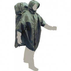 "Накидка дождевая ""CapeBag L-XL"", цвет зелёный"