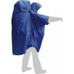 """Накидка дождевая """"PonchoBag L-XL"""", цвет синий"""