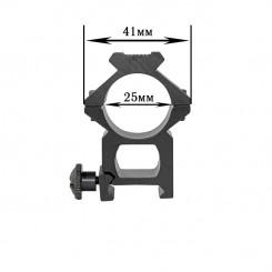 Крепления для фонарей алюм 118 диам 25мм