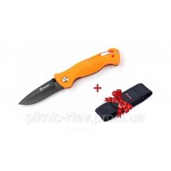 Нож складной Ganzo G611OR оранжевый