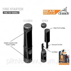 Огниво Gerber Bear Grylls Fire Starter блистер