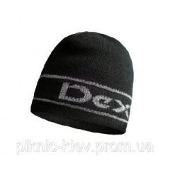 Шапка водонепроницаемая Dexshell Beanie Reflective Logo<br />черная с лого L / XL 58-60 см