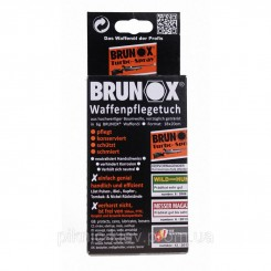 Brunox Gun Care салфетки для ухода за оружием<br />5шт в коробке