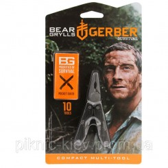 Мультитул Gerber Bear Grylls Compact блистер (31-000750)