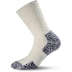 Носки Lasting KNT S 002 белый/серый